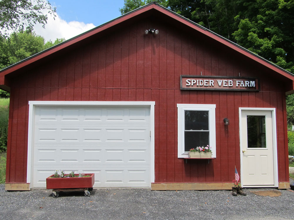 The new home of Spider W3eb Farm